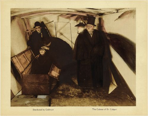 'The Cabinet of Dr Caligari' (1920), dir: Robert Wiene