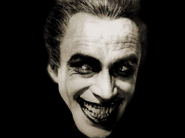 Conrad Veidt in 'The Man who Laughs' (1928), dir: Paul Leni